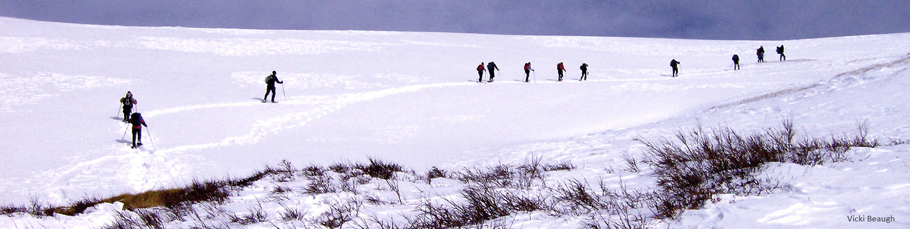 Snowshoe Hikers V Beaugh f