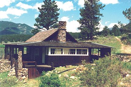 William Allen White cabin