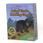 North American Animal Tracks Matching Game