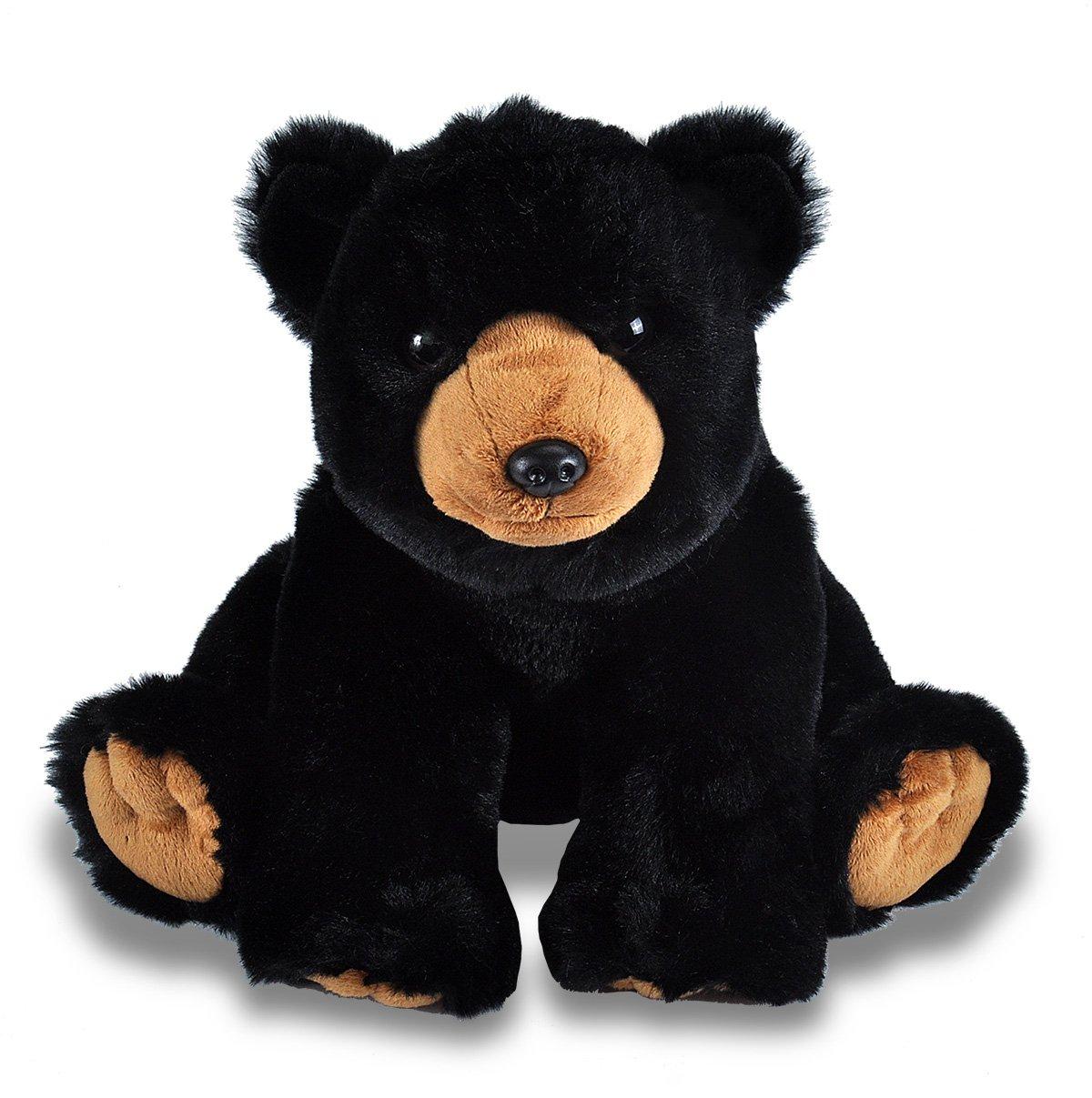Sunbear Stuffed Animal, Black Bear Plush Rocky Mountain Conservancy