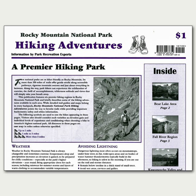 Hiking Adventures Newspaper