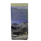 Rocky Mountain National Park Trail and Recreation Map