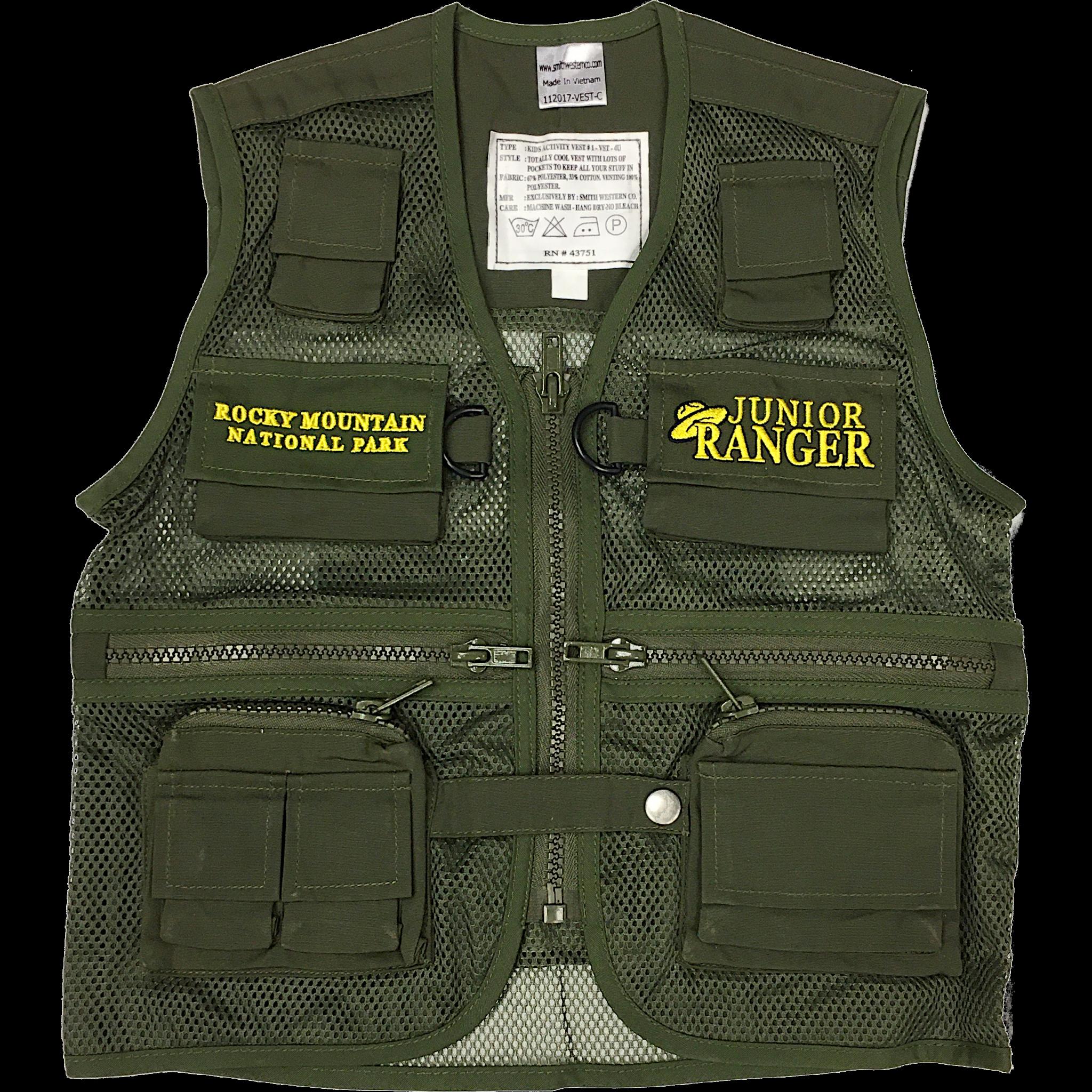 Jr. Ranger Vest