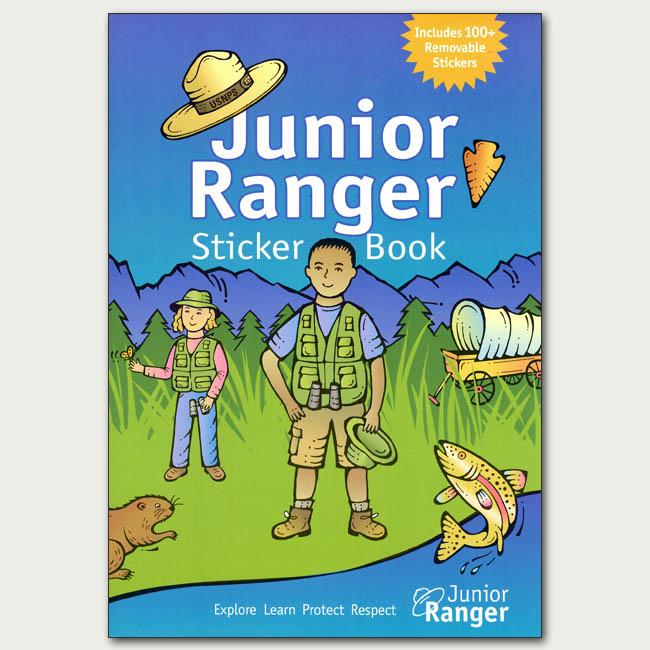 Junior Ranger Sticker Book
