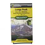 Longs Peak Bear Lake/WildBasin Trails Illustrated Topographic Map
