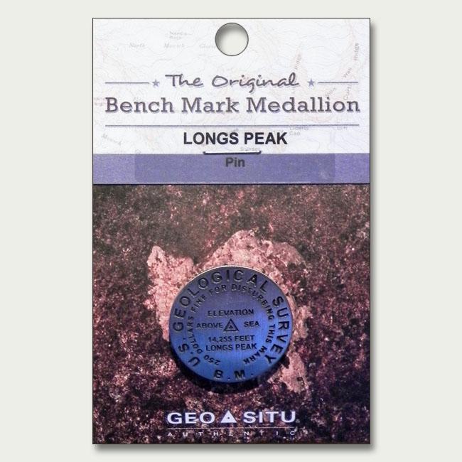 RMNP Longs Peak Summit Marker Pin