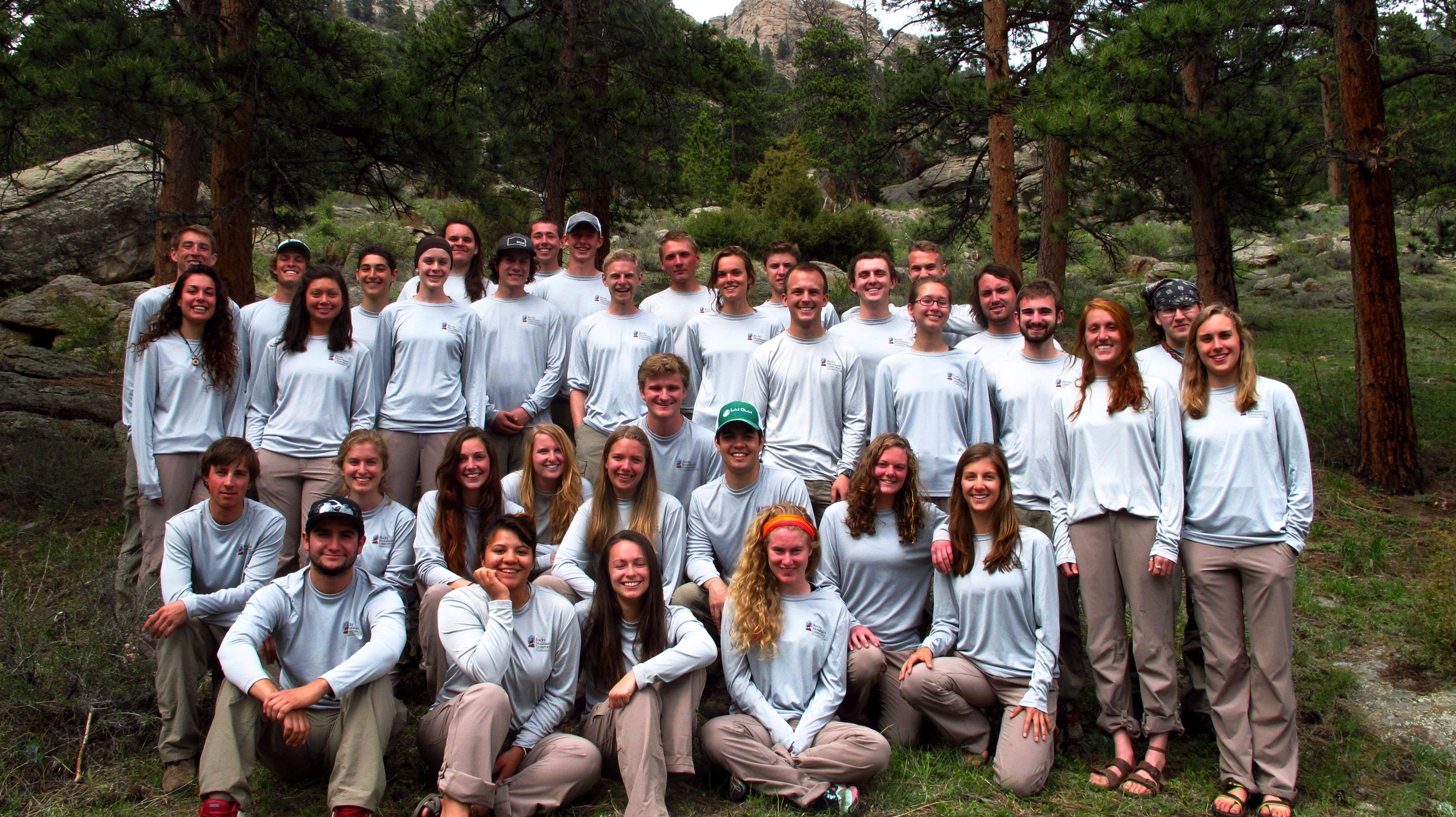 Rocky Mountain Conservancy - Conservation Corps 2014