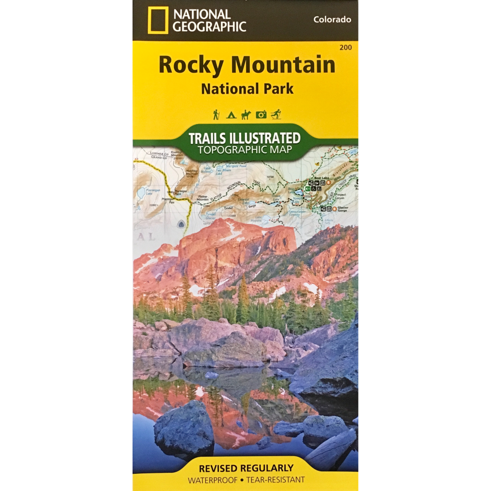 Rocky Mountain National Park Trails Illustrated Topographic Map (TI200)