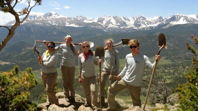 Estes Crew on Top of Deer Mountain