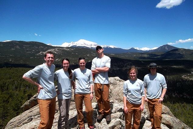 Boulder Crew on top of Miller Rock