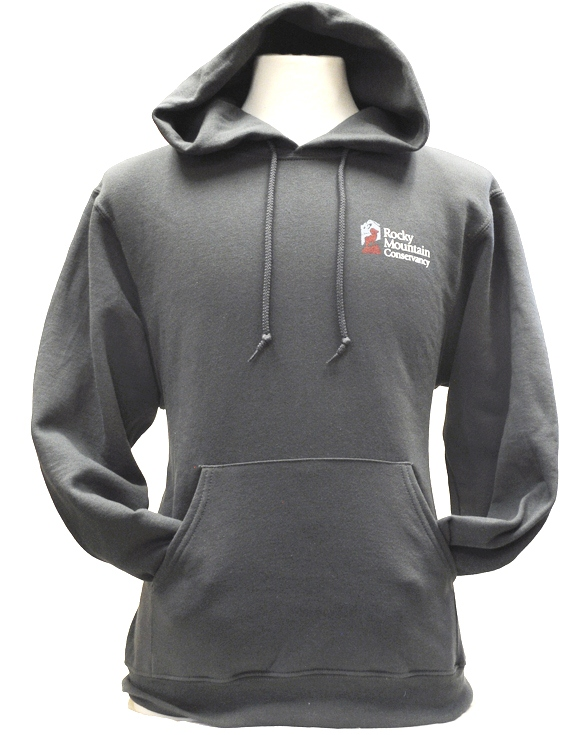 GRAY HOODIE Front