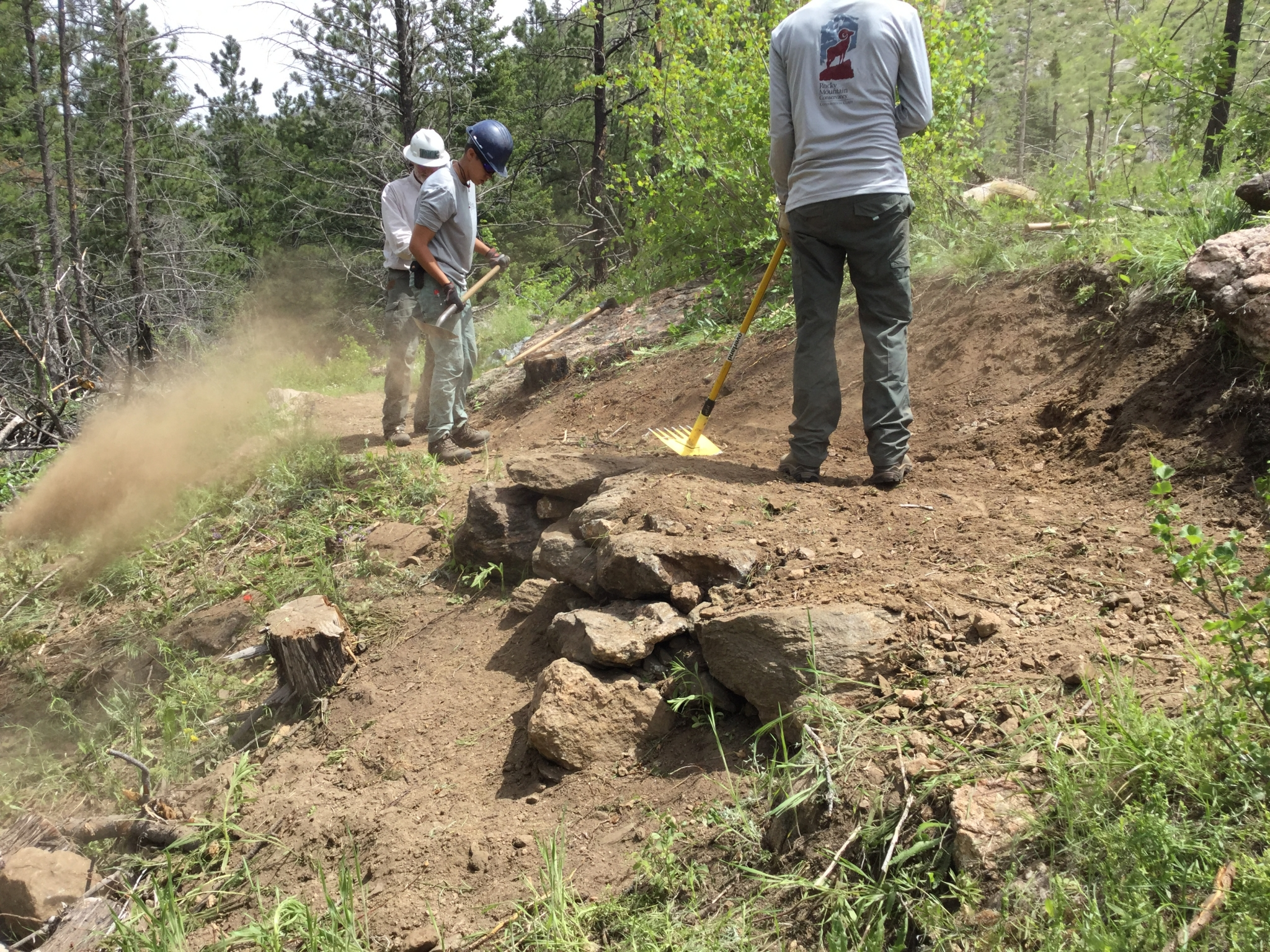 Conservation Corps - Rocky Mountain Conservancy