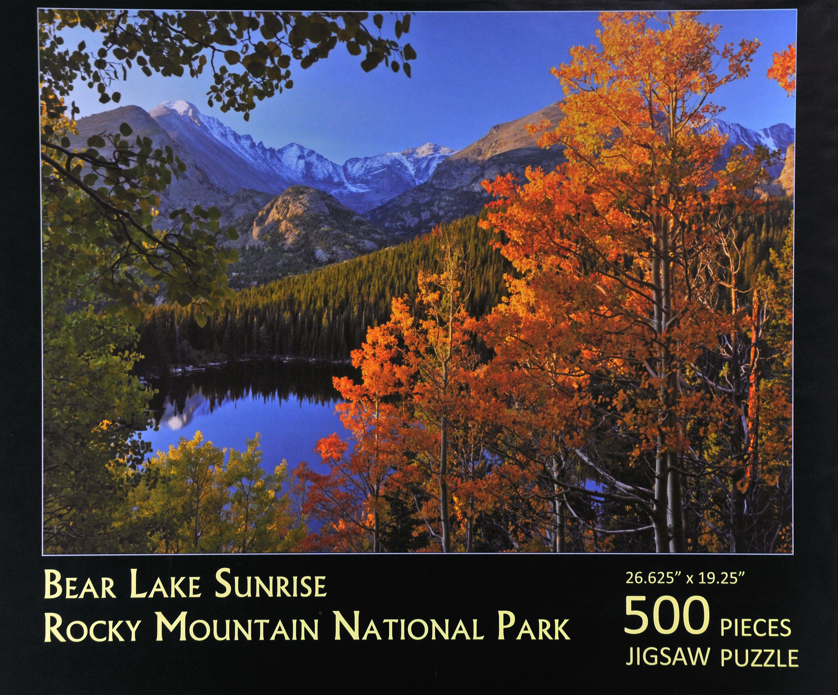 Bear Lake Jigsaw Puzzle copy