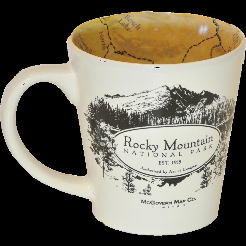 Mug Rmnp Map Rocky Mountain Conservancy