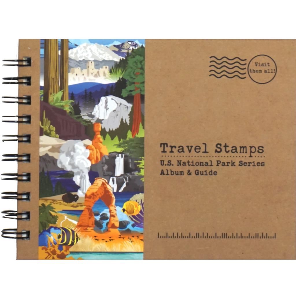 Travel Stamps U.S. National Park Series Album & Guide