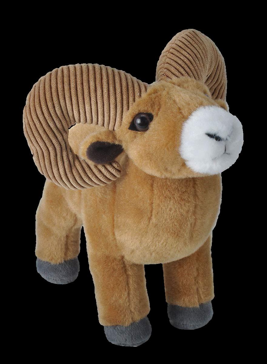 Big Horn Sheep Plush 12 Rocky Mountain Conservancy