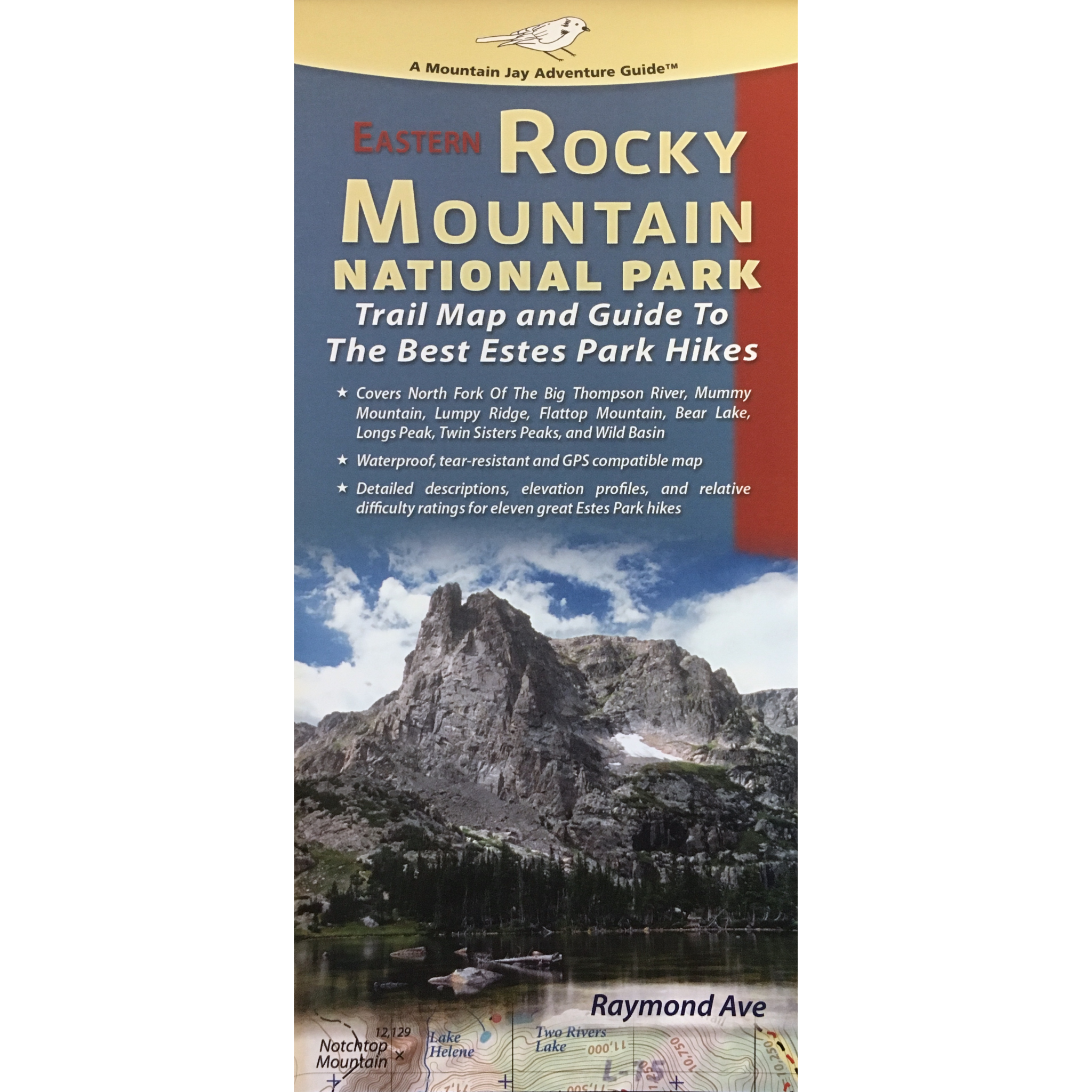 Eastern Rocky Mountain National Park Trail and Recreation Map ...