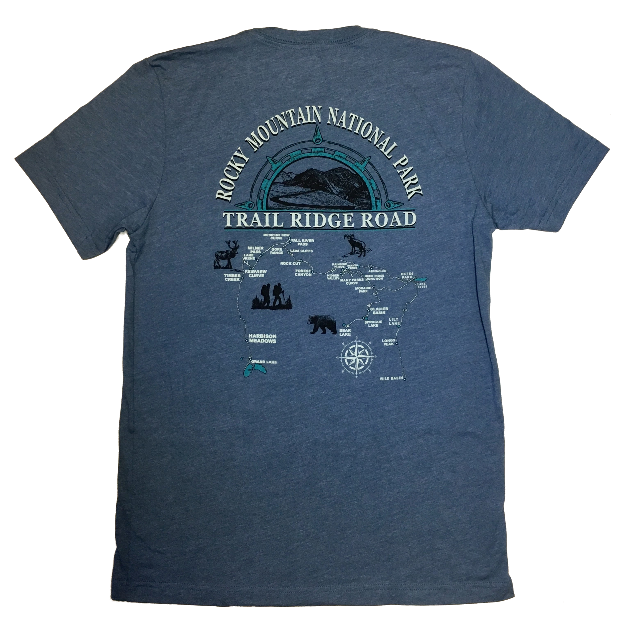 Gray Trail Ridge Road Tshirt