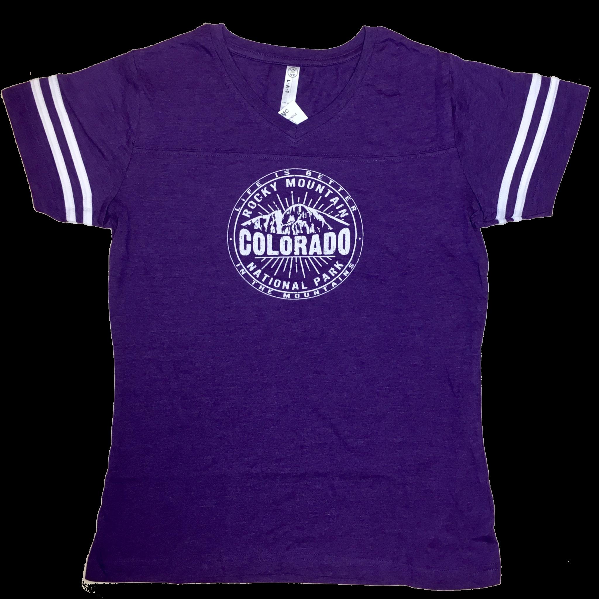 Purple Colorado RMNP Tshirt