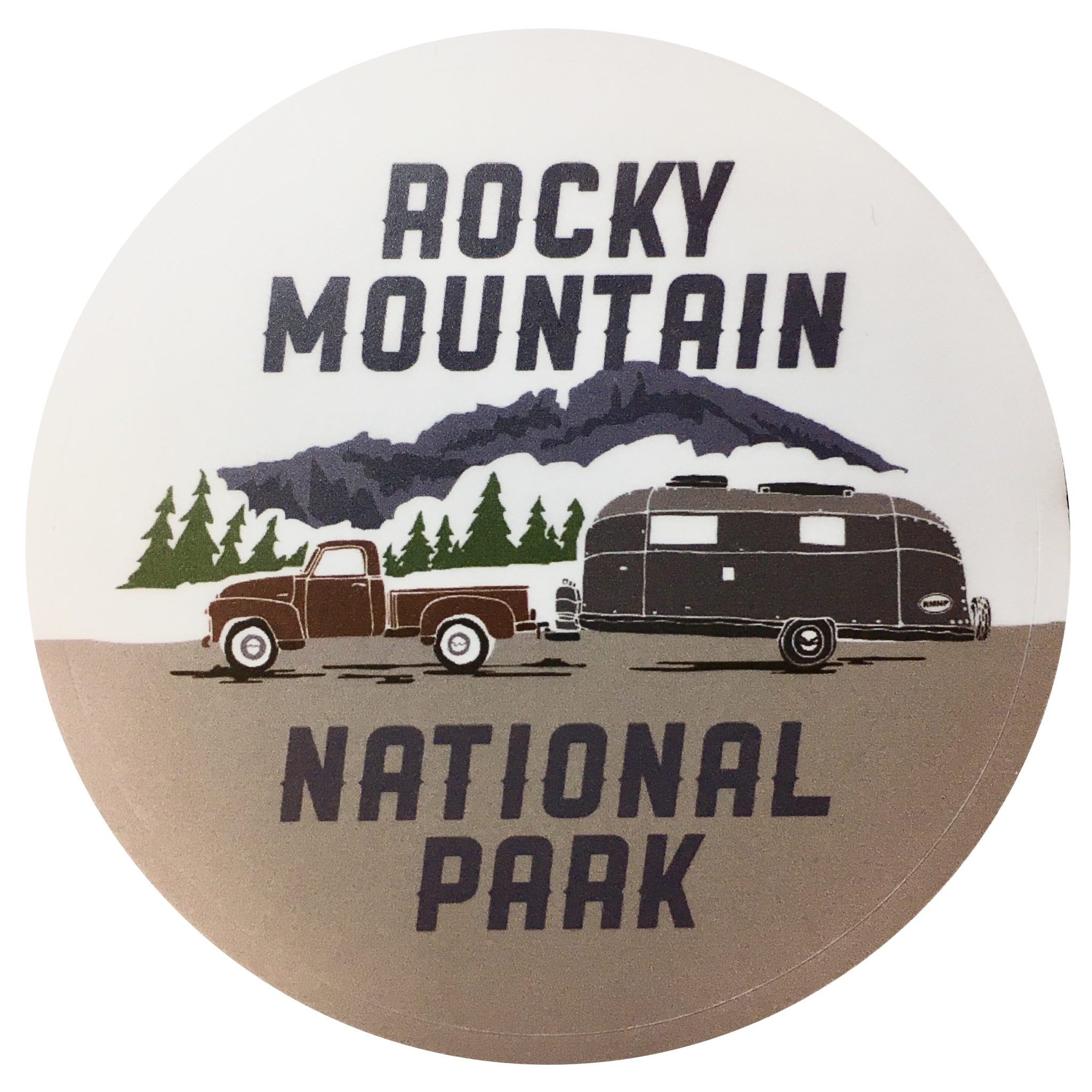 RMNP Camper Trailer Sticker