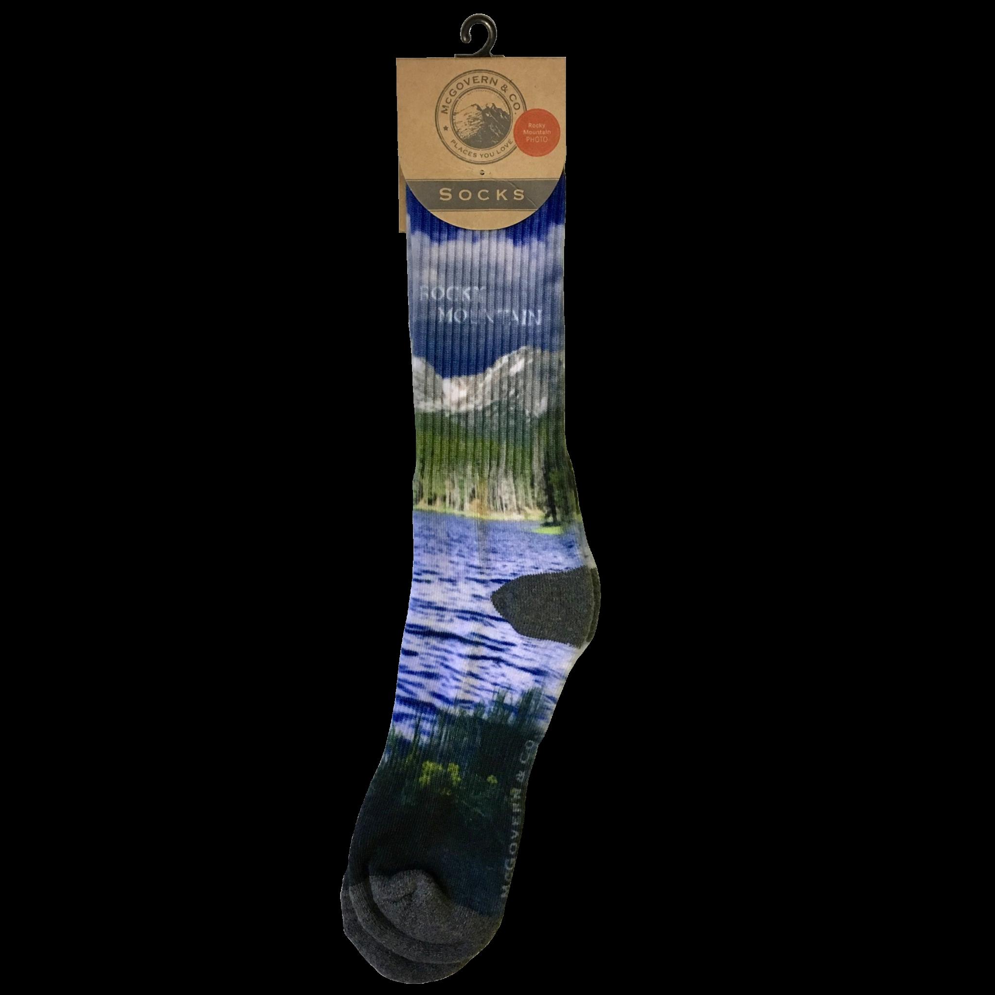 Picture socks