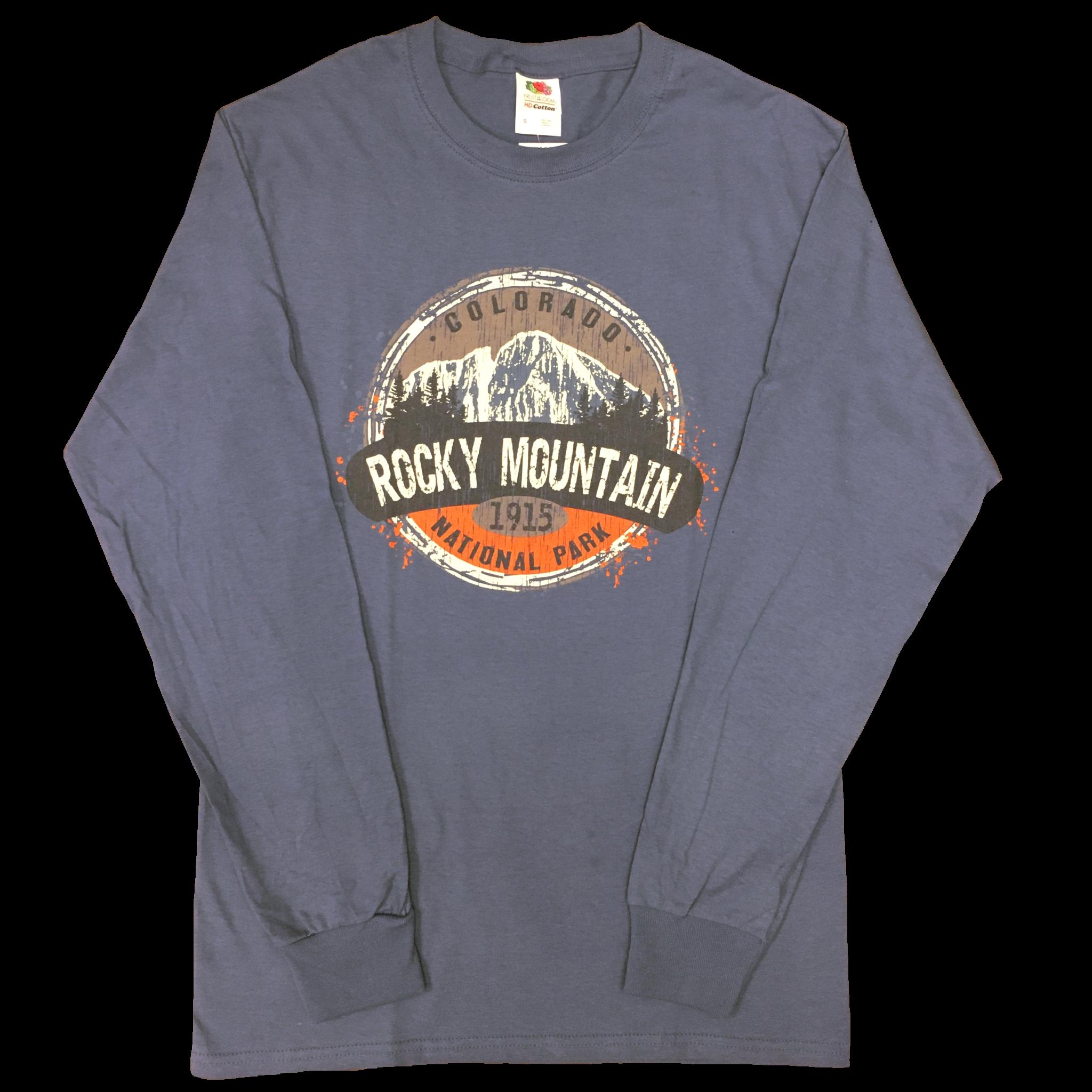 Blue LS Longs Peak shirt