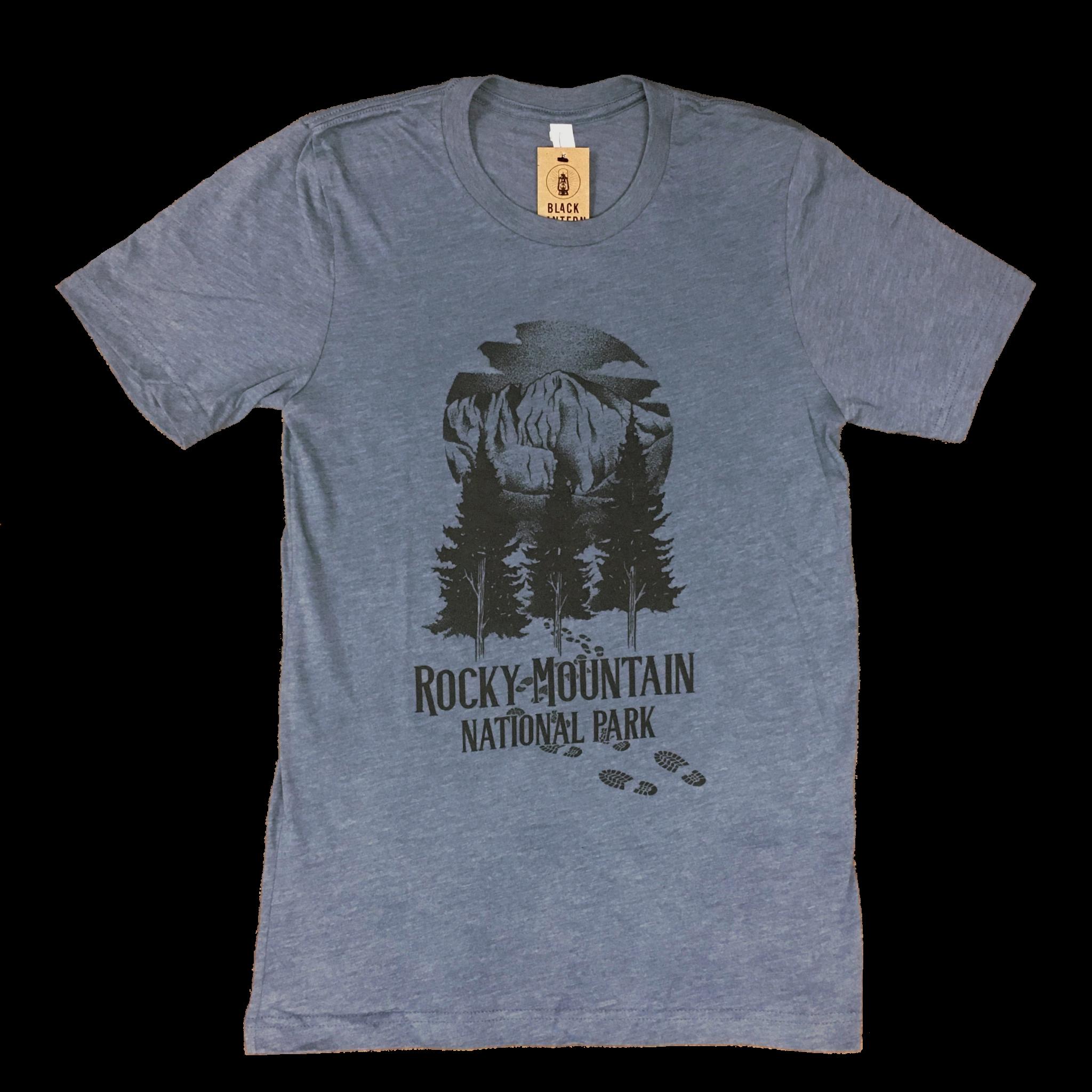 Blue Longs Peak shirt
