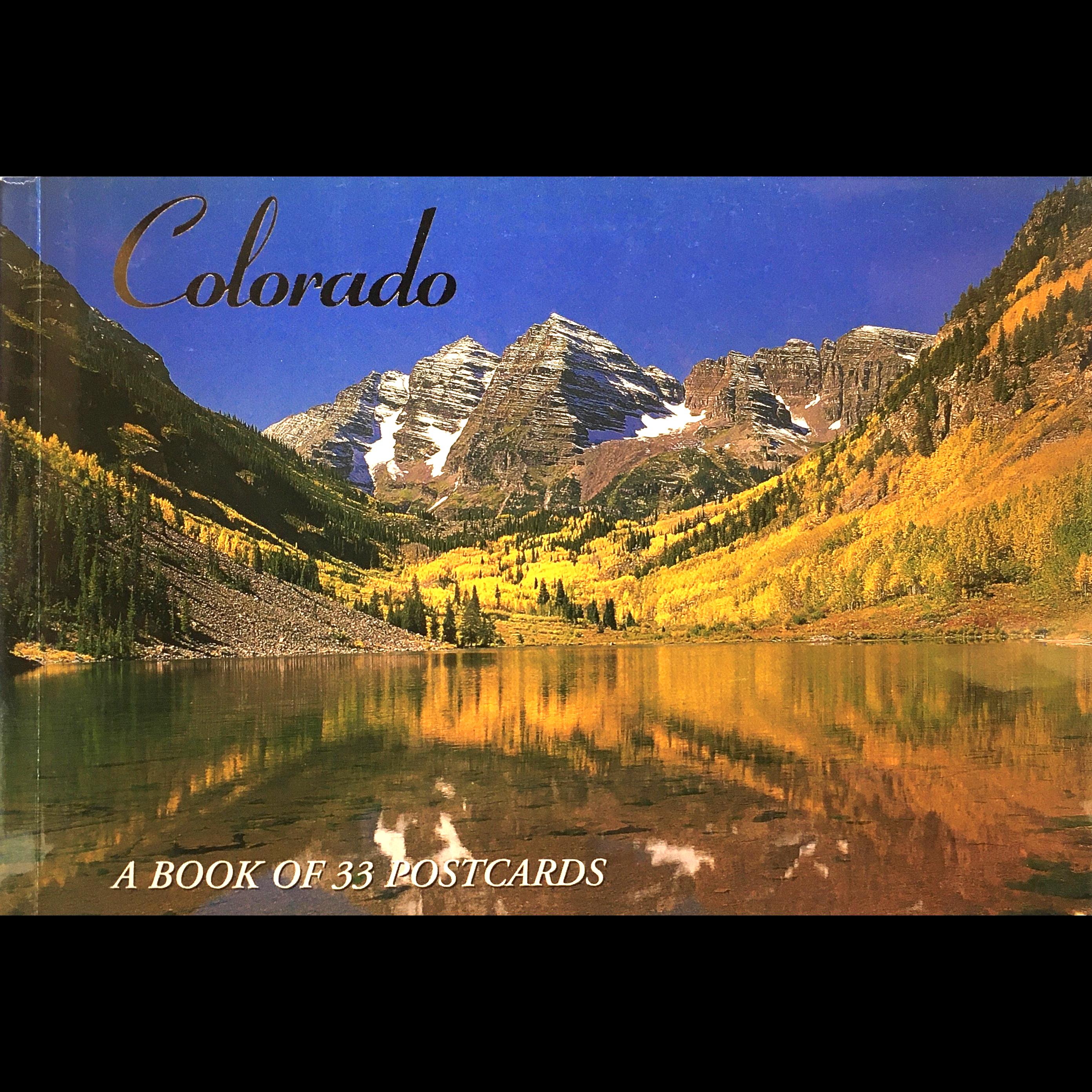 Postcard book CO