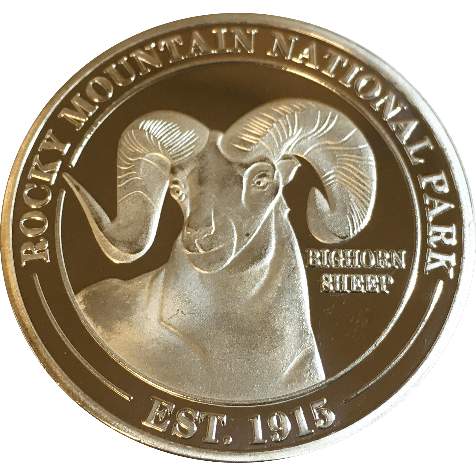 Silver coin front