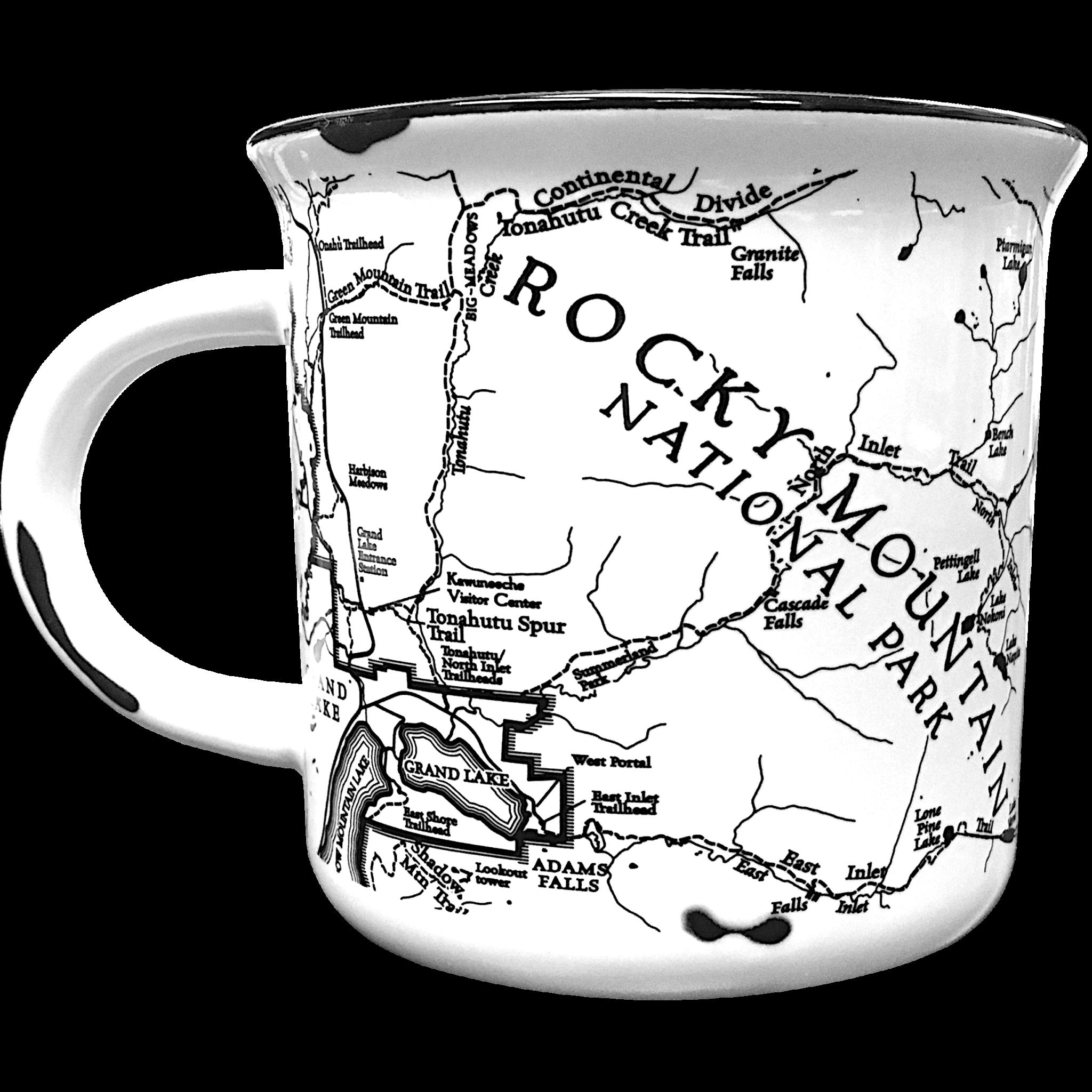 Mug camp map