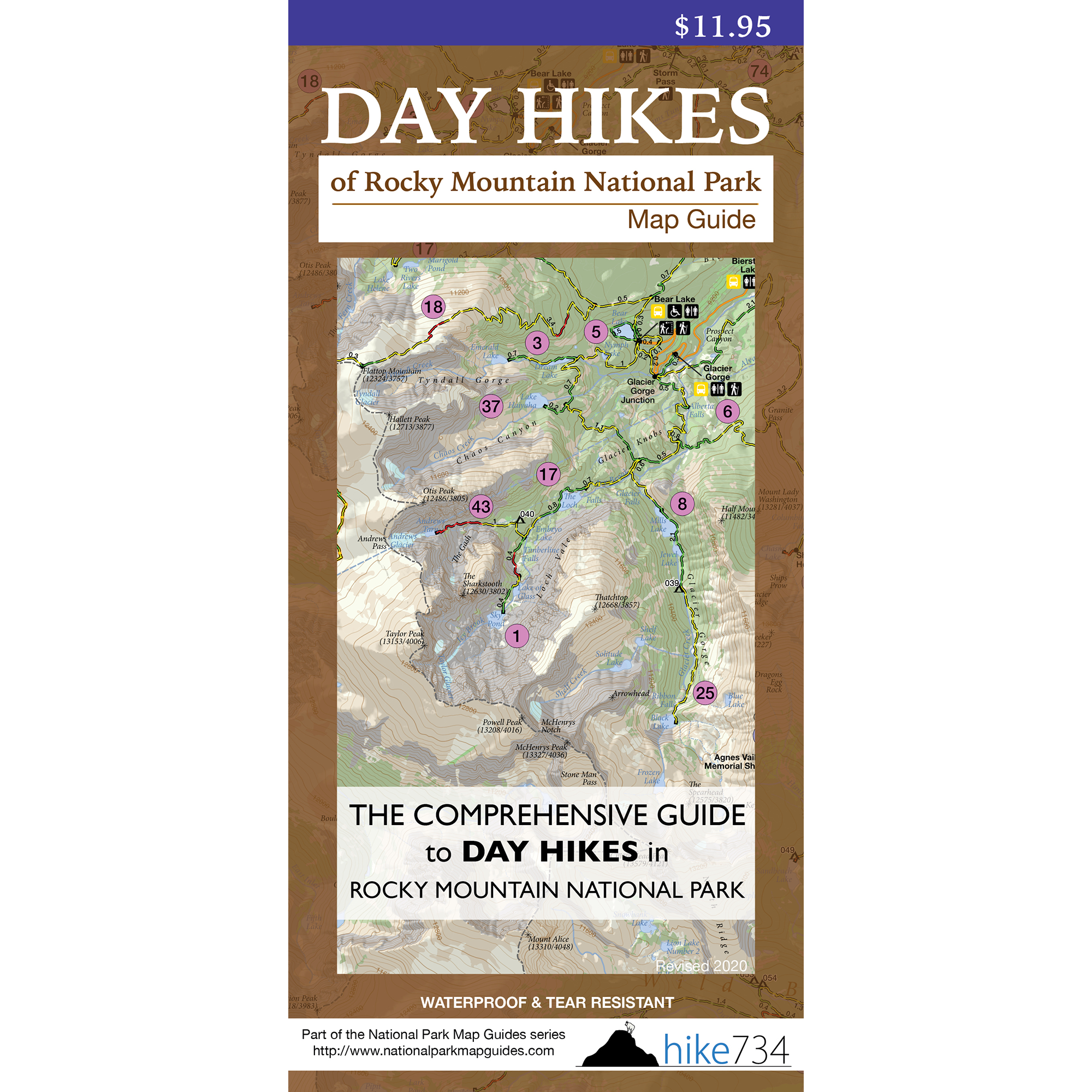 Map day hikes